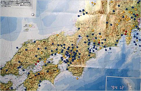 日本全国の進行状況がひと目でわかる地図