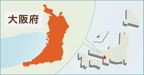 大阪職域コホート研究地図