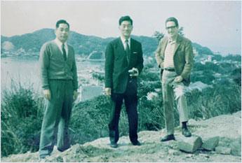 福本先生,木村先生,ブラックバーン先生