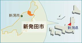 新発田地図